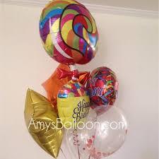 new york balloon delivery confetti filled balloon centerpieces confetti decor balloons
