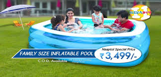 Intex Swim Center Family Pool Hexabug Family Size Inflatable Pool Youtube