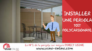 Photos De Pergola Installation Pergola Toit Polycarbonate Youtube
