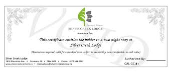 hotel gift certificates our suites silver creek lodge