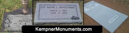 flat headstones monuments headstones gravestone kempner lasas tx