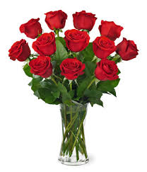 a dozen roses 1 dozen roses with vase at from you flowers
