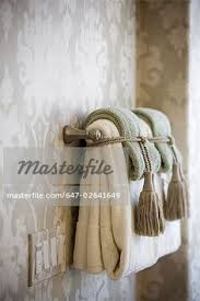 towel folding ideas for bathrooms ways to decorate the towel racks in your bathroom upstairs