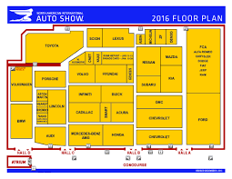 auto show all about auto shows 2016 naias floorplan