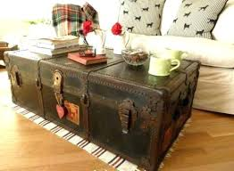 vintage trunk coffee table rustic chest coffee table old trunk coffee table vintage trunk