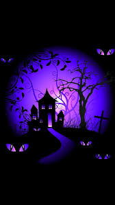 fb scary happy halloween images quotes hd wallpapers 2016 iphone wallpapers background black and purple halloween haunted