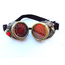 alice in wonderland steampunk goggles red queen cosplay