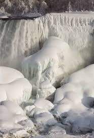 truth stunning frozen niagara falls pictures
