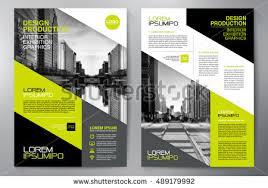 flyer design business brochure flyer design a4 template stock vector 489179992