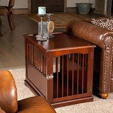 newport pet crate end table pet crate end table full size of wood dog crate furniture excellent