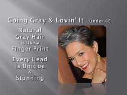 hairstyles for young women with gray hair going gray lovin it younger women youtube