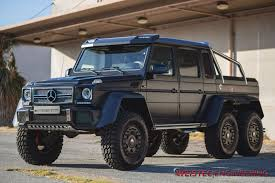 mercedes jeep black official mercedes benz g63 amg 6x6 by weistec engineering gtspirit
