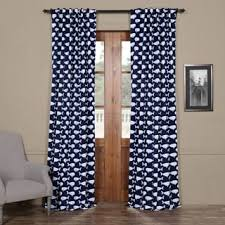 Navy Blackout Curtains Exclusive Fabrics Migaloo Navy Blackout Curtain Panel Pair Free