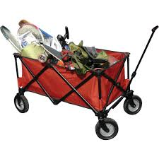 ozark trail folding wagon blue walmart com