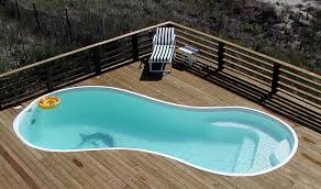 Concrete Pool Designs Ideas Plain Above Ground Fiberglass Swimming Pools Pool Accessories And