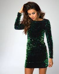 green dress buy motel gabby green sequin dress in iridescent at motel rocks