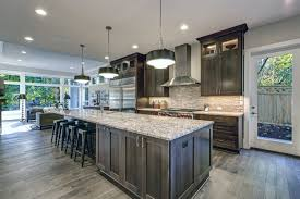 blue gray stained kitchen cabinets the kitchen cabinet trending
