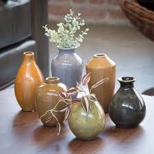 Mini Bud Vases 29 Imax 4 5 6 5h In Mini Vases Set Of 6 From Hayneedle Com