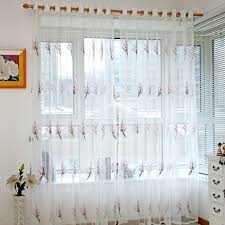 online shop tulle window screening sheer scarf valance gauze