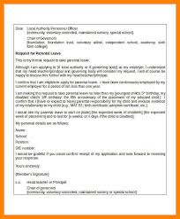 how to write a application letter to the principal for leave