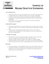comprehensive resume sample example of objective in resume benefits representative sample cover letter example objective for resume sample objective for example objectives objective resume personal template builder examples for engineering write