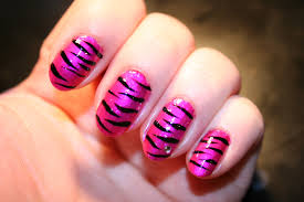 zebra print nail design trend manicure ideas 2017 in pictures