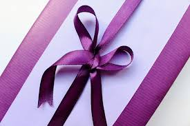 purple gift wrap going purple with this all purple gift wrapping idea