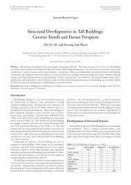 structural developments in tall buildings current trends and