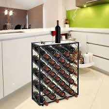 metal wine rack table wine rack table ebay