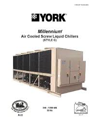 york chiller air conditioning building engineering