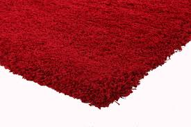 ultra thick super soft shag rug red u2013 floorsome