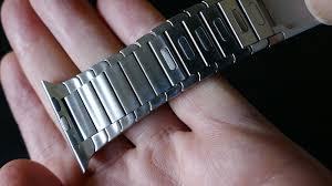 metal link bracelet images Apple watch ouluoqi link bracelet in 4k uhd jpg