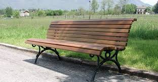 panchine per esterno panchina per esterni belllitalia in legno e ghisa modello vimini
