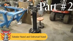 bench vise stand and universal stand build part 2 of 5 youtube
