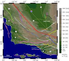 san francisco fault map structure of the san joaquin valley