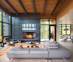 enchanting mountain home offers treehouse feel in montana modern mountain home stillwater architecture 04 1 kindesign