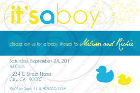 baby shower invitations under the sea design rubber ducky baby shower invitations