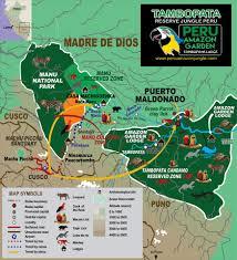 Amazon Rainforest Map Inca Trail Amazon Rainforest Tambopata 9d 8n Quechuas