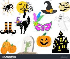 spooky house clipart classic halloween symbols haunted house bats stock vector