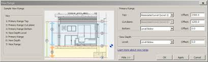 revit tutorial view range ceiling plan revit view range theteenline org