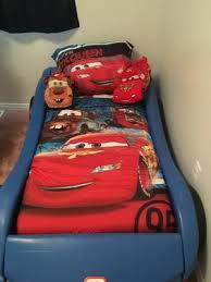 Disney Cars Home Decor Disney Cars Team Lightening 4 Piece Toddler Bedding Set Walmart Com