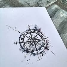 the 25 best nautical compass tattoo ideas on pinterest mens