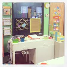 Desk Organized by Shabby Chic Teacher Desk Classroom Ideas Pinterest Teacher