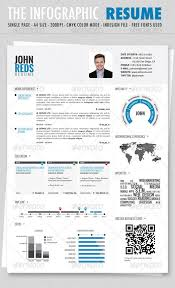 Graphical Resume Infographic Resume Template Resume Templates