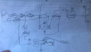 electric go kart preliminary wiring plan and implementation