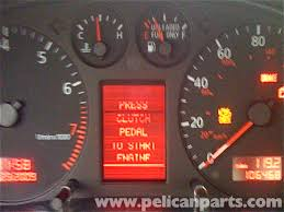 audi a4 check engine light reset audi a4 1 8t volkswagen center display repair golf jetta passat