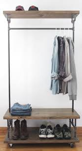 Galvanized Pipe Clothes Rack Projects Pipes U0026 Wood