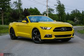 lexus yellow convertible 2015 ford mustang ecoboost convertible review u2013 no respect