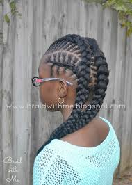 african fish style bolla hairstyle with braids beads braids and beyond natural hairstyle for kids fish bone