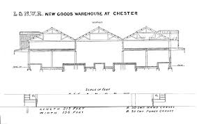 Floor Plan Of A Warehouse by File Sketch Of New Goods Warehouse At Chester 1889 Png